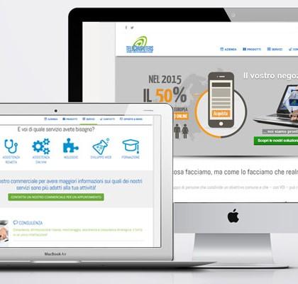 TELECOMPUTERS presenta il suo nuovo sito telecomputers.it